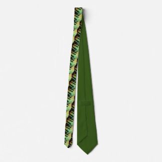 Piano  Electric Green Tie