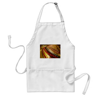 Piano from Bass Strings Adult Apron