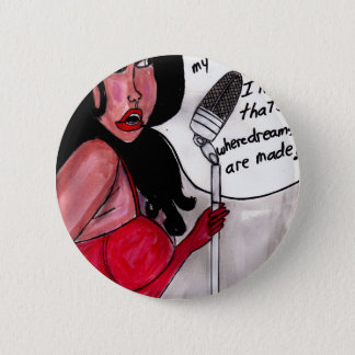 Piano Girl ll 2 Inch Round Button