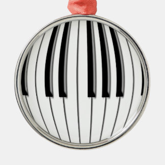 Piano Globe Metal Ornament