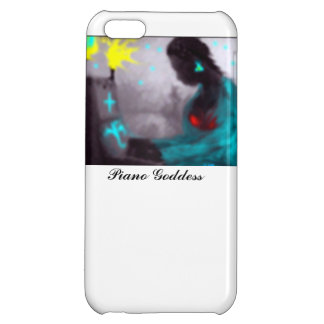 Piano Goddess Cover For iPhone 5C