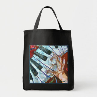 PIANO GROCERY BAG