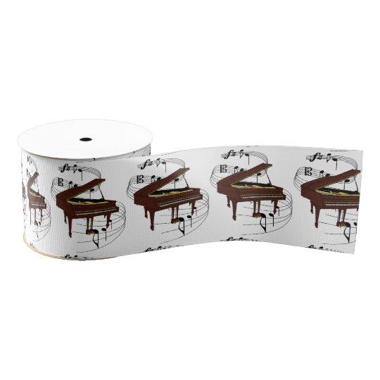 Piano Grosgrain Ribbon