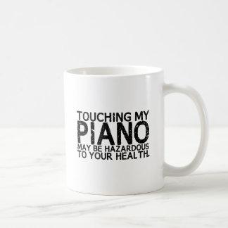 Piano Hazard Coffee Mug