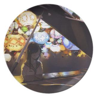 Piano In The Dark Plate