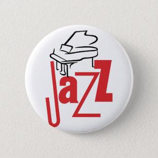 Piano Jazz 2 Inch Round Button