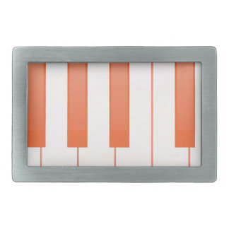 Piano Key Background Belt Buckle