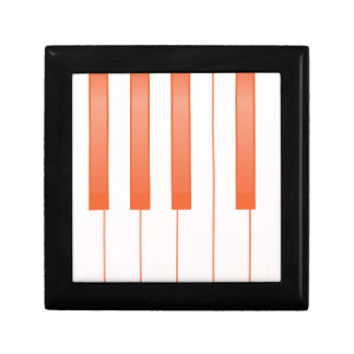 Piano Key Background Gift Box