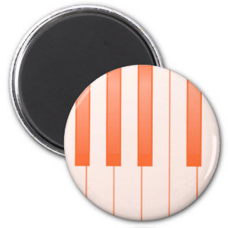 Piano Key Background Magnet