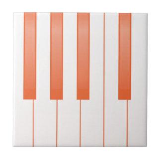 Piano Key Background Tile
