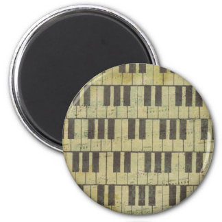 Piano Key Music Note Magnet
