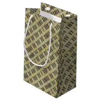 Piano Key Music Note Music Theme Small Gift Bag