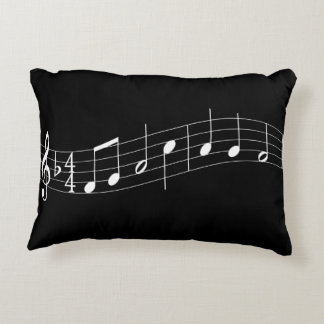 Piano Keyboard and Music Double Sided Pillow