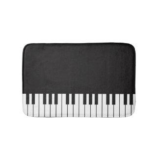 Piano Keyboard Bath Mat