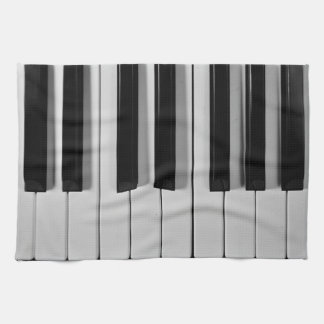 Piano Keyboard Custom Kitchen Towel