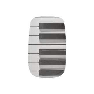 Piano Keyboard Custom Minx Minx Nail Art