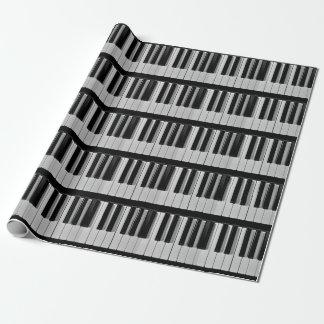 Piano Keyboard Custom Wrapping Paper