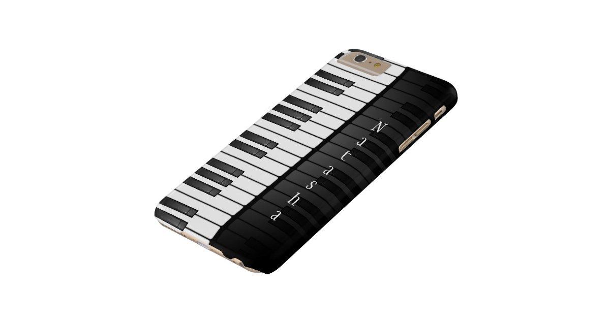 Piano keyboard design iphone 6 plus case zazzle for Nuove case da 1 piano