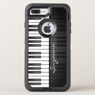 Piano Keyboard Design Otter Box OtterBox Defender iPhone 8 Plus/7 Plus Case