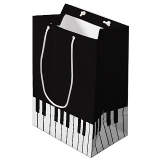 Piano Keyboard Gift Bag