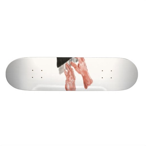 Piano keyboard hands playing keys design custom skateboard