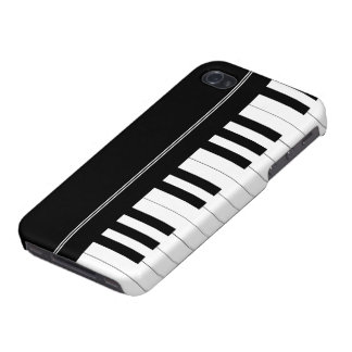 Piano keyboard iPhone 4 cases