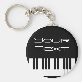 Piano Keyboard Key Chain