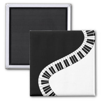 Piano Keyboard Musical Magnet