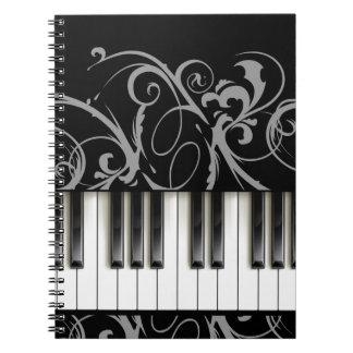 Piano Keyboard Notebooks