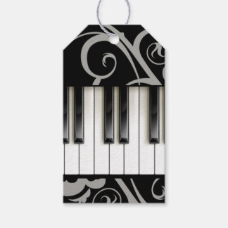 Piano Keyboard Pack Of Gift Tags