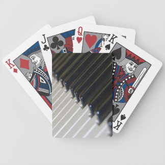 Piano Keyboard Playing Cards