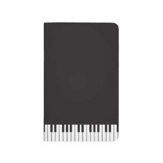 Piano Keyboard Pocket Journal