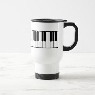 Piano Keyboard Travel Mug