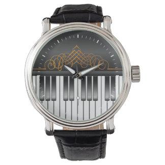Piano Keyboard Watch