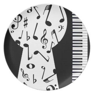 Piano Keyhole Plate
