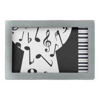 Piano Keyhole Rectangular Belt Buckles