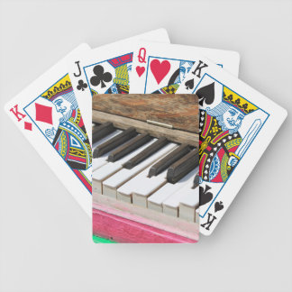 Piano Keys 2 Bicycle Playing Cards