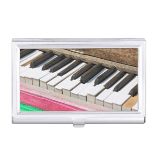 Piano Keys 2 Business Card Holder