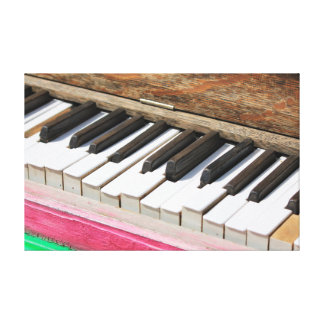 Piano Keys 2 Canvas Print