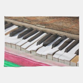 Piano Keys 2 Kitchen Towel
