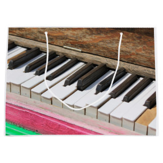 Piano Keys 2 Large Gift Bag