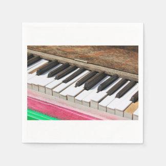 Piano Keys 2 Paper Napkin