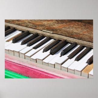 Piano Keys 2 Poster