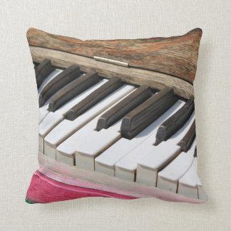 Piano Keys 2 Throw Pillow