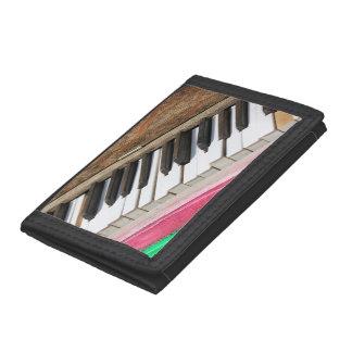 Piano Keys 2 Tri-fold Wallets