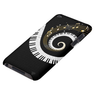 Piano Keys and Gold Music Notes Case-Mate iPod Touch Case