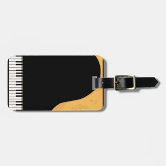 Piano Keys Bag Tag