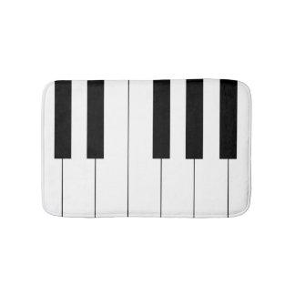 Piano Keys Bath Mat