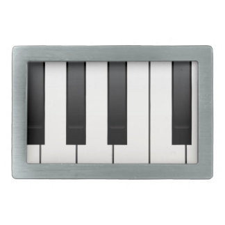 Piano Keys Belt Buckle