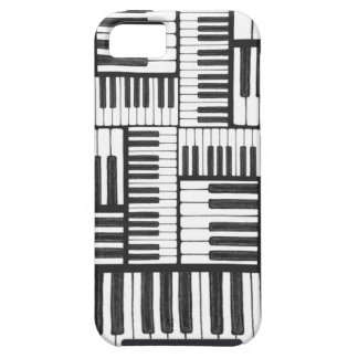 Piano Keys Black and White iPhone 5/5S Case
